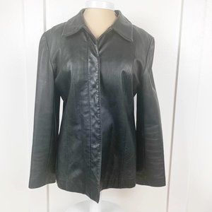 Vintage Rem Garson Leather Jacket Black Size L